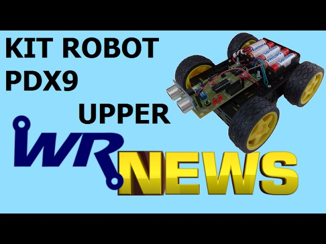KIT ROBOT PDX9 UPPER | WR News #05