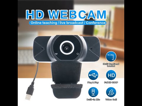 video Best Webcam HD 1080P Web Camera, USB Webcam with Microphone,  Video Webcam 110-Degree Widescreen, Streaming Webcam for Recording, Calling, Conferencing, & Gaming