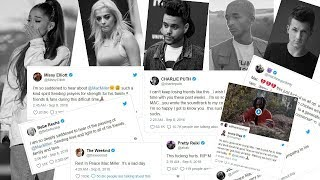 Celebrity Reactions to Mac Miller's Tragic Death ► Celebrities Pay Tribute To Ariana Grande's Ex