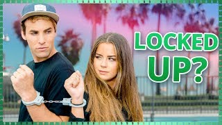 Handcuff Train Challenge! | Do It For The Dough w/ Tessa Brooks and Tristan Tales