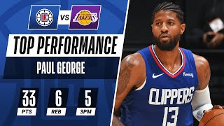 Paul George Drops 26 Of His 33 PTS In 2nd Half To Guide Clippers! | #KiaTipOff20