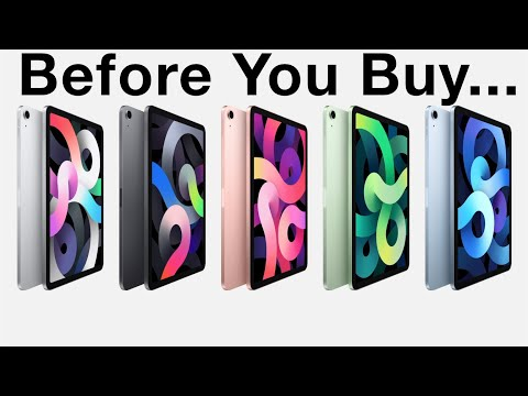 iPad Air 4 and iPad (2020) Watch THIS Before You Buy!