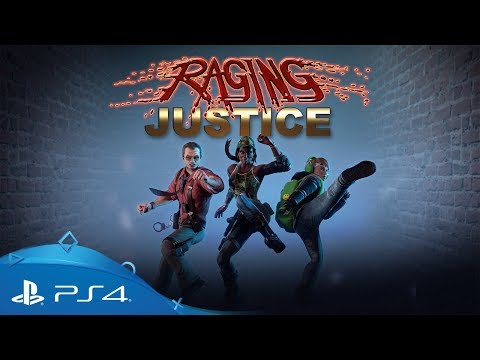 Raging Justice | Új karakter | PS4