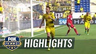 Hoffenheim vs. Dortmund   Bundesliga Highlights   FOX SOCCER