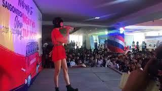 Hiền Hồ - Em Ngày Xưa Khác Rồi [FanCam Live] | Vui Hết Nấc Cùng Các Bạn SaiGonTech