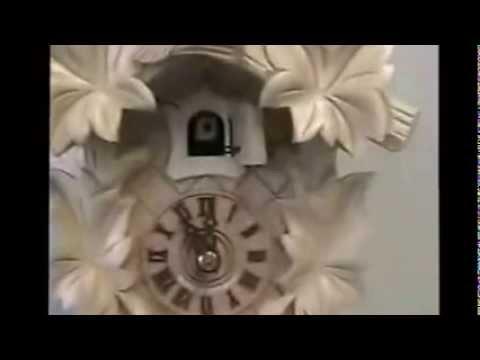 Cuckoo Clock - Natural Wood | Hand-carved | #100NAT
