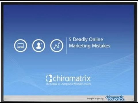 5 Deadly Online Marketing Mistakes