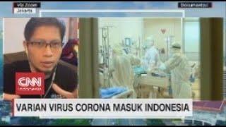 Varian Virus Corona Masuk Indonesia