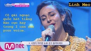 [Icsyv] Cô gái ngoại quốc xinh đẹp hát tiếng Hàn cực hay ^^