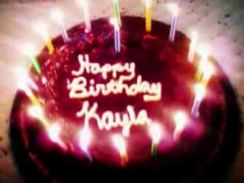 Happy Birthday Kayla Nicole Hines One Year Today Youtube