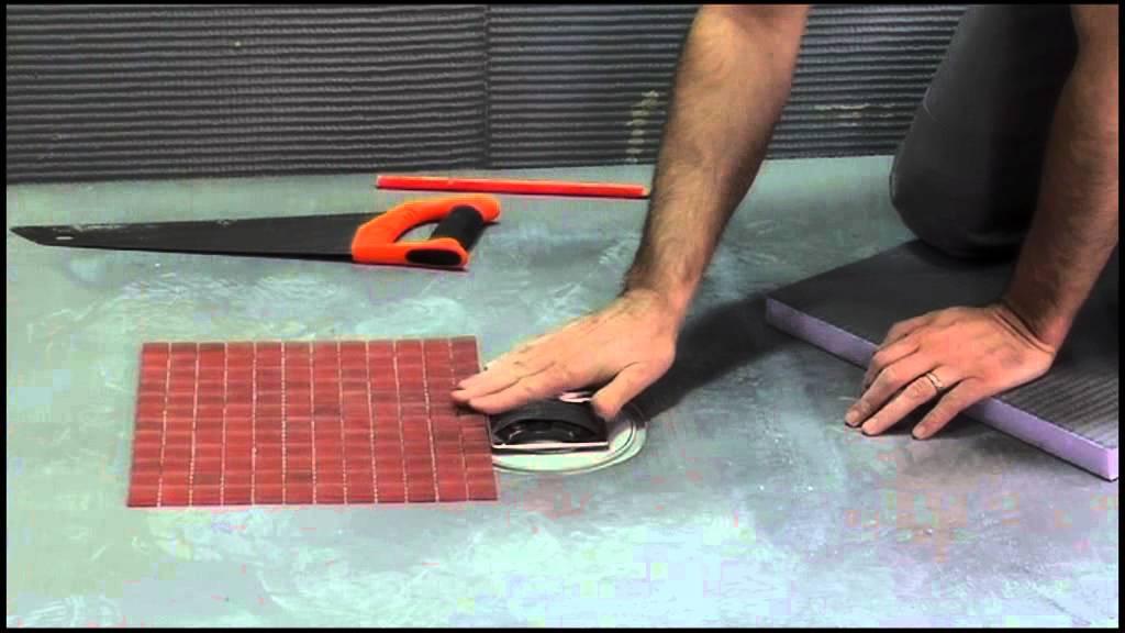 video de pose de receveur de douche carreler youtube. Black Bedroom Furniture Sets. Home Design Ideas
