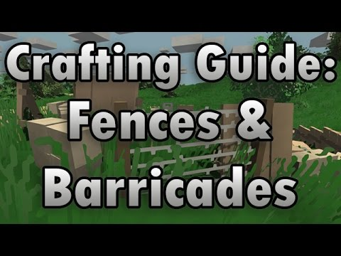 Crafting Guide Fences