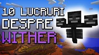 ★ Minecraft : 10 LUCRURI PE CARE NU LE ȘTII DESPRE WITHER