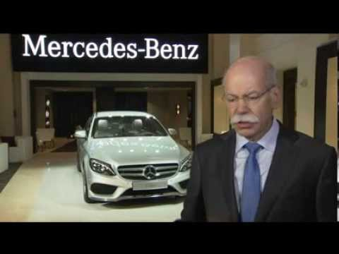 Mercedes-Benz at NAIAS 2014 interview with Dr. Dieter Zetsche ...