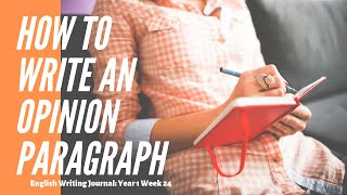 How to Write an Opinion Paragraph about your Least Favorite Food