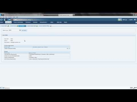 SCM Solution Command Center License Usage video-HD view in full screen mode