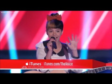 Melanie Martinez por primera vez en The Voice