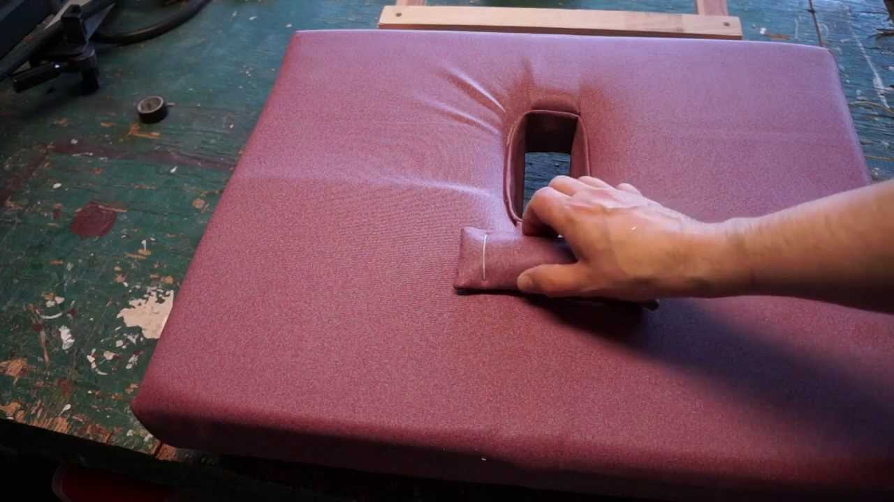 How To Make A Portable Stowable Massage Table Youtube