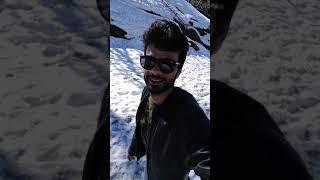 Auli snow fall