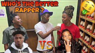 Who Better NBA YOUNGBOY 🤬 or LIL BABY 👶🏾💰 ? | Public Interview ‼️