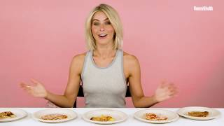 Julianne Hough Taste Tests Cauliflower Crust Pizza | Food Fight