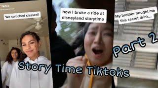 Story Time Tiktok Compilation Part 2   Tiktok World