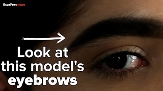 This Girl's Eyebrows Made Her A Model