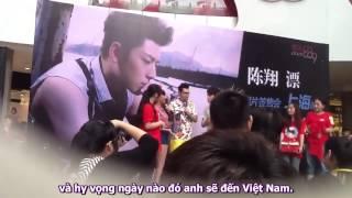 Hiền Anh gặp Trần Tường tại Fansign ở Shanghai TQ