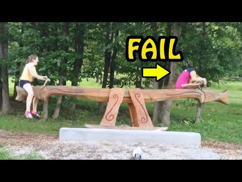 Seesaw FAIL Compilation 2017 [NEW]
