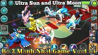 Bộ 3 Pokemon Mạnh Nhất Game : Ultra Sun - Ultra Moon - Hoopa Unbound Thử Thách Vượt Ải Mới