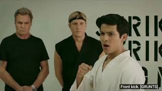 Cobra Kai Season 2! I'm joking to you sensei. Plus the Snake do.