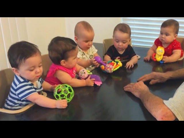 五胞胎怎麼養?美國爸媽自創「輕鬆餵食法」