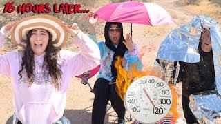 LAST TO SURVIVE IN THE DESERT WINS $10,000 CHALLENGE!
