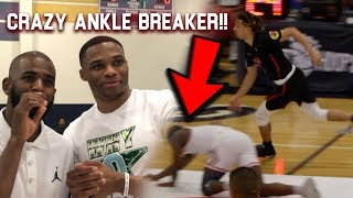 Russell Westbrook & CP3 AMAZED by Cole Anthony ANKLE BREAKER VS Cassius Stanley!! Carmelo Watching!