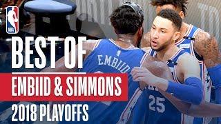 Joel Embiid & Ben Simmons Best Plays | 2018 NBA Playoffs