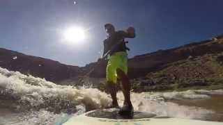 Mike Tavares and Zack Hugues on the Big Sur wave