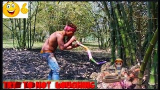 Must watch New  Funny comedy 😂😂  videos 2019 {{Episode 8}}   THE FUNNY KING   ]]