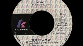 George McCrae ~ Honey I (I'll Live My Life For You) 1975 Disco Purrfection Version