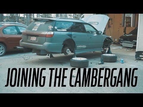 SUBARU LEGACY SHOW CAR BUILD EP 5 // Cambergang!
