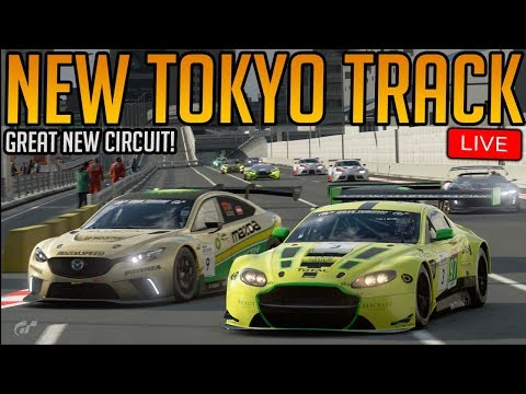 Gran Turismo Sport: New Tokyo Circuit! (New Weekly Races Live)