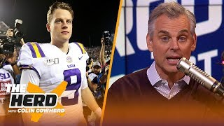 Colin Cowherd picks conference championship week college football in the Marquee 3 | CFB | THE HERD