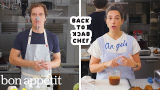 Michael Shannon Tries to Keep Up With a Professional Chef   Back-to-Back Chef   Bon Appétit