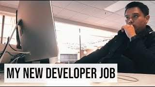 My FIRST DAY At My NEW Web Developer Job! | #devsLife
