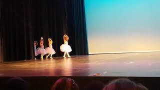 "Ballet Recital - little Ballerinas dancing to ""Pretty Ballerina"""