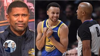 Jalen Rose calls foul on Steph Curry & James Harden's stepback 3s | Jalen & Jacoby