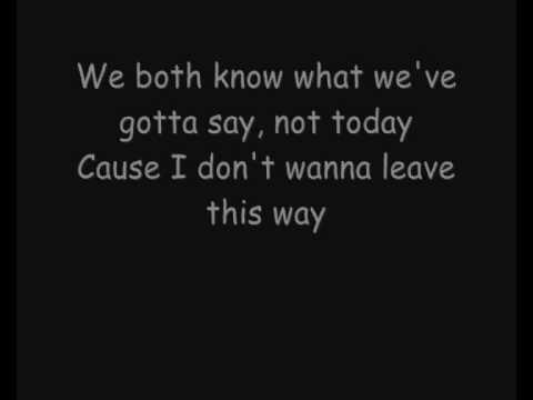 Skillet - Say Goodbye - Acoustic (Lyrics)
