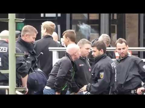 Köln gegen Gladbach, Fans kommen über Pulheim