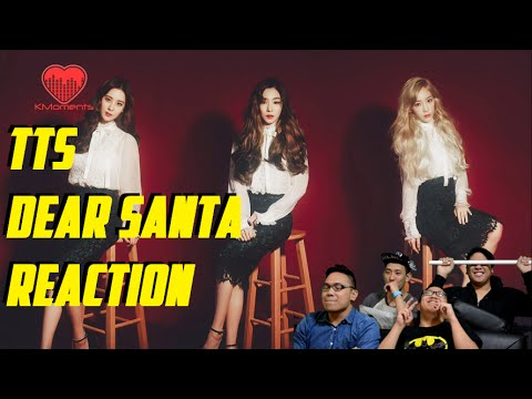 [4LadsReact] SNSD TTS (소녀시대-태티서) - DEAR SANTA MV Reaction