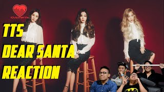 [4LadsReact] SNSD TTS (소녀시대-태티서) - DEAR SANTA MV Reaction