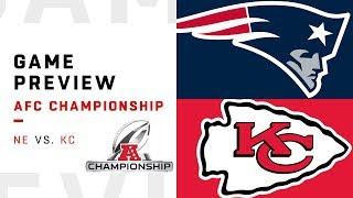 New England Patriots vs. Kansas City Chiefs   AFC Championship Preview   Move the Sticks